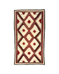 """Navajo Ganado Rug c. 1920, 104"""" x 57"""""""