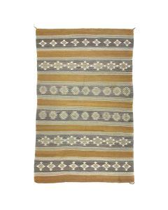 "Navajo Chinle Rug c. 1940, 87"" x 54"""
