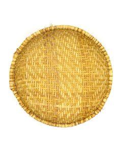 """Hopi Sifter Basket c. 1920-40, 2"""" x 9.5"""""""