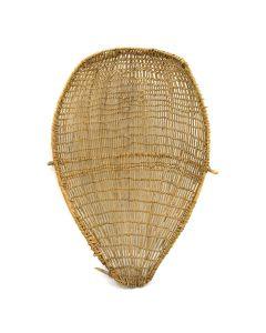 """Hopi Sifter Basket c. 1920, 5"""" x 15.5"""" x 24"""""""