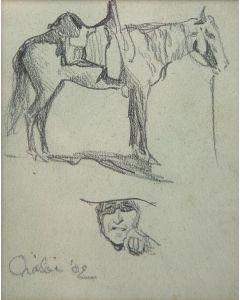 Maynard Dixon (1875-1946) - Oraibi '02