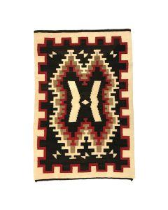 """Navajo Ganado Rug c. 1910-20, 57"""" x 38"""""""