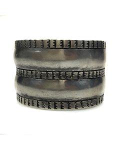 Navajo Silver Bracelet c. 1930, size 6.5