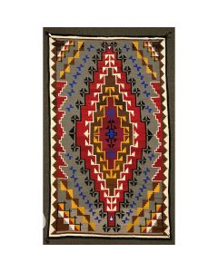 "Ada Kai - Large Navajo Klagetoh Rug with Handspun Wool c. 1980, 181"" x 111"""