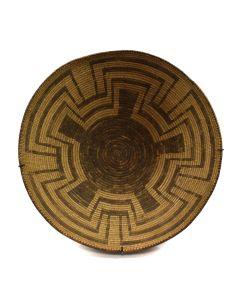 """Pima Basket c. 1890s, 5.5"""" x 16"""""""