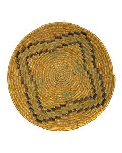 """Jicarilla Apache Basket c. 1910, 4.5"""" x 19"""""""