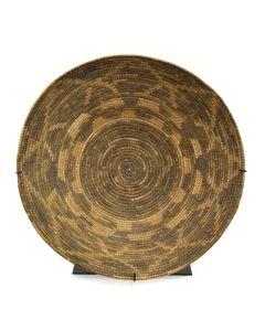 """Pima Basket c. 1890-1900s, 3.75"""" x 15"""""""