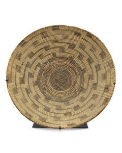 """Pima Basket c. 1900s, 5"""" x 16"""""""