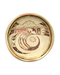 "Hopi Pottery Bowl c. 1920s, 2.5"" x 6.25"""