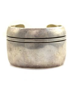 Ronnie Hurley - Navajo Sterling Silver Bracelet c. 1930s