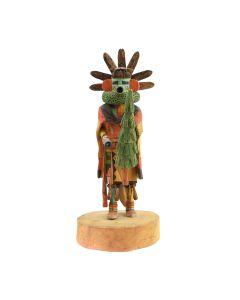 "Preston Ami - Hopi Talavai Kachina c. 1990-2000s, 12.5"" x 4"" x 5"""