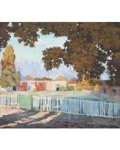 SOLD Theodore Van Soelen (1890-1964) - Adobe Near Nambe