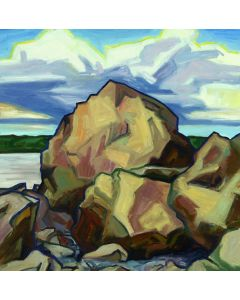 James Woodside - Boulders and Clouds