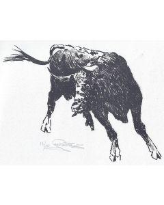 Jack van Ryder (1899-1968) - Bull