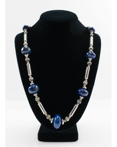 Frank Patania, Jr. - Lapis Lazuli and Sterling Silver Necklace