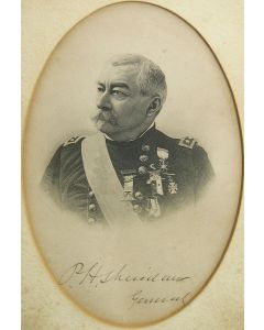 Lithograph of P.H. Sheridan General