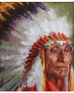 SOLD Henry C. Balink - Chief Kills Above - Oglala Sioux