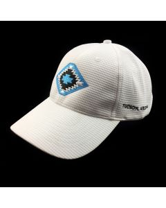 Mark Sublette Medicine Man Gallery Embroidered Hat - White with Turquoise Logo