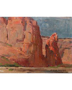 SOLD Edgar Payne (1883-1947) - In Canyon de Chelly