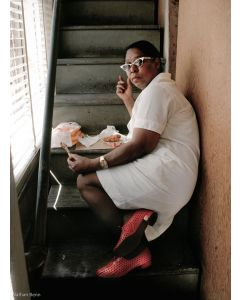 Nathan Benn - Interrupted Lunch, New Orleans, 1983