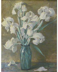 SOLD Joseph Henry Sharp (1859-1953) - Irises