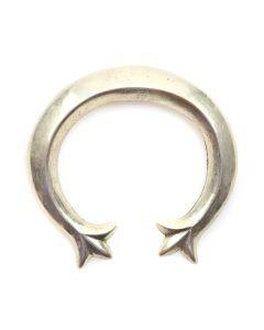 """Navajo Silver Naja c. 1950s, 2"""" x 2.25"""" (J12149)"""
