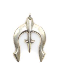 """Navajo Silver Naja c. 1950s, 2.25"""" x 1.5"""" (J12151)"""