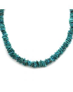 "Zuni 2-Strand Multi-Stone and Heishi Fetish Necklace c. 1970s, 30"" length (J90207C-0920-002)"