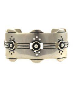 Sam Patania - Contemporary Sterling Silver Bracelet, size 6.75
