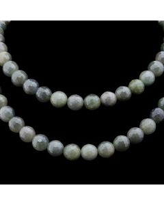 "Miramontes Double-Strand Necklace with Faceted Aquamarine Beads, 22"" length (J91305-0920-005)"
