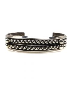 Miramontes Silver Twisted Wire Bracelet, size 6.5 (J91305-109-014)