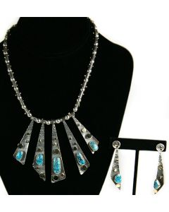 """x SOLD Sam Patania - """"Night Life"""" Necklace and Earrings Set"""
