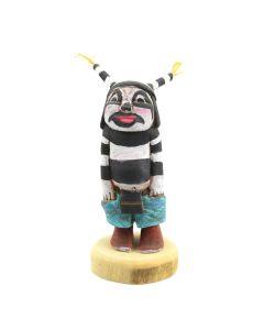 "Contemporary Hopi Clown Kachina, 6"" x 3.5"" x 3"""