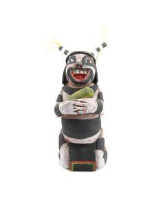 "John David, Sr. - Contemporary Hopi Clown Kachina, 5"" x 3"" x 4"""