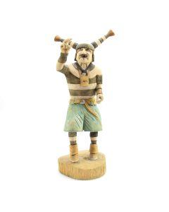 Buddy Tubinaghtewa - Contemporary Hopi Clown Kachina