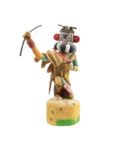 M. Avatchova - Contemporary Left-handed Kachina with Bow