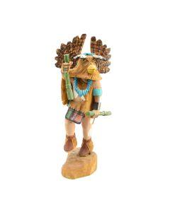 Anthony Roy - Contemporary Hopi Mongwa Great Horn Owl Kachina