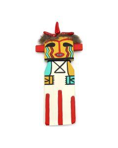 Ted Puhuyesva, Hotevilla - Hopi Heheya Amutaka, Ihio(Heheya's Uncle) Cradleboard Kachina (K1535)