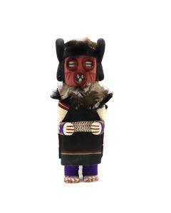 "Hopi Old-Style Doll c. 1990s, 8"" x 3.25"" x 3"" (K1591)"