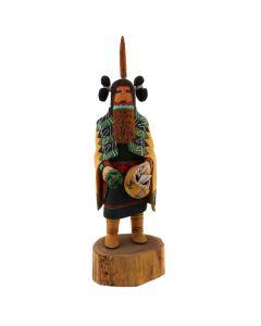 "Dewey Sahmea – Hopi Kachina Mana c. 1990s-2000s, 12.5"" x 4"" x 3.5"" (K1615)"