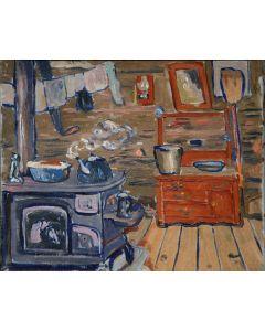 SOLD Jozef Bakos (1891-1977) - Kitchen