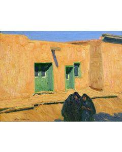 SOLD Ernest L. Blumenschein (1874-1960) - Las Tres Mujeres