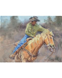 SOLD Jan Mapes - Leadin' Off