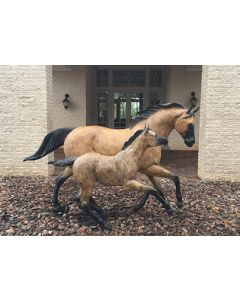 Star Liana York - One and Half Horse Power (Life Size)