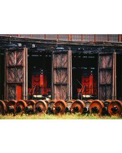 Nathan Benn - Locomotive Barn, St. Albans, Vermont, 1973