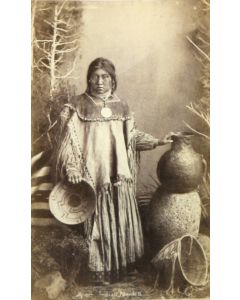 Ben Wittick (1845-1903) - Apache Indian Maiden Na-tu-ende