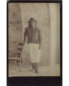 Lot 207 - Turton and Howe Photography - Chief Geronimo at Ft. Pickens, Pensacola, FL (M1340)