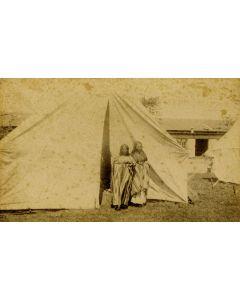 "Eugenio Sturtevant - Empress and Princess, 1886, 4.25"" x 7"" (M1343)"