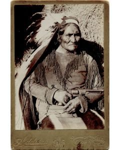 George A. Addison - Geronimo Apache Chief