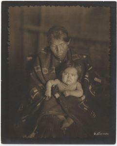 William Pennington (1874-1949) - Indian Madonna